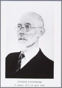 Photo of Pannekoek, 1 January 1950. Photo: Unknown photographer. Public Domain.