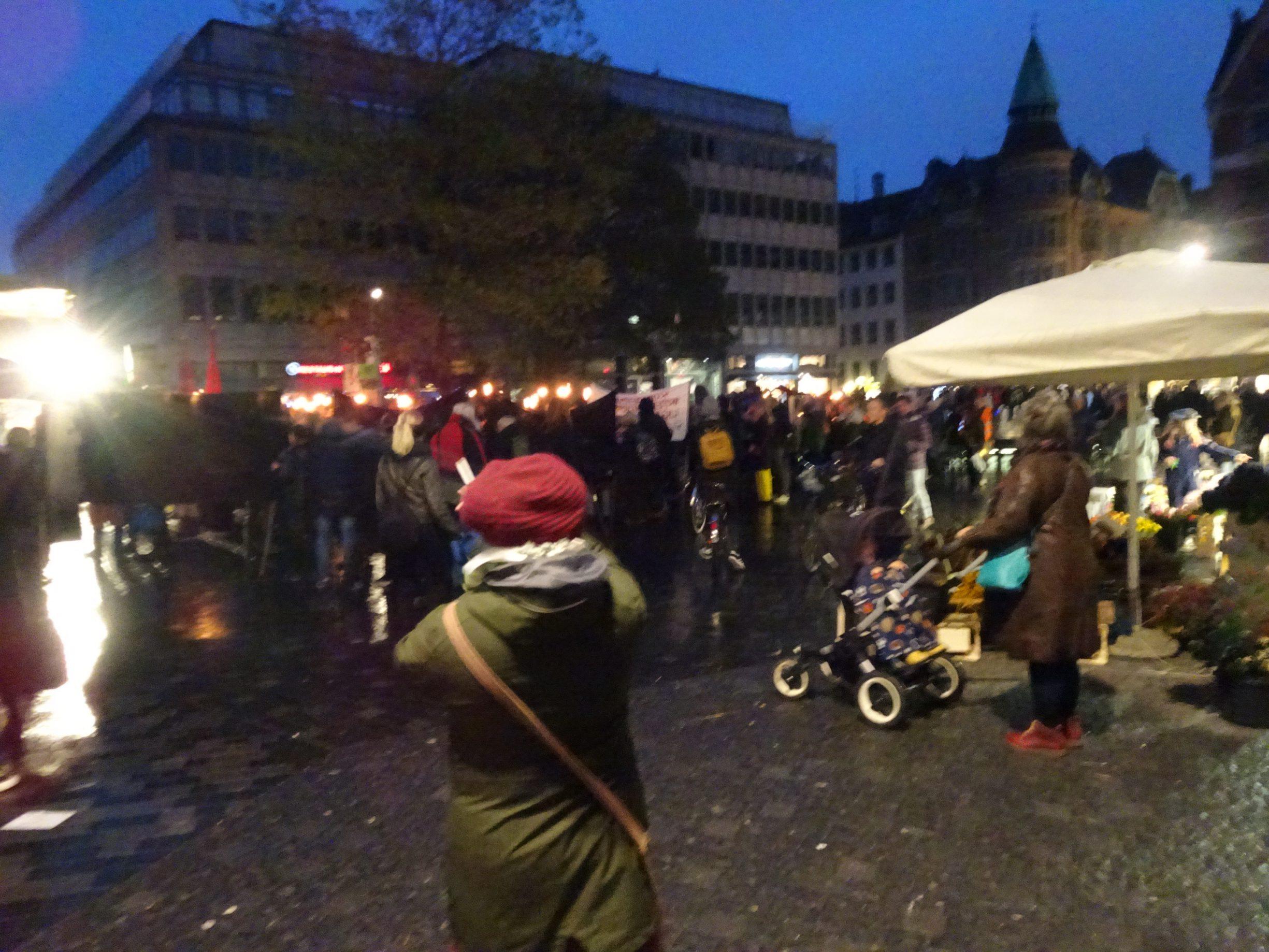 Kultorvet i København, 9 november 2019. Forto: pma.