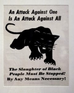 An Attack Against One is an Attack Against All, 1971. Poster. Oakland Museum. (CC BY-NC 2.0).