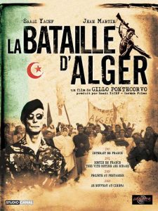La Bataille D'Algier - French filmposter.