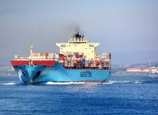 Containerskib. Kilde: Pixabay
