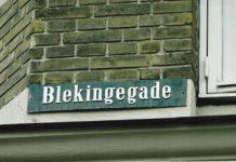 Blekingegade på Amager i København, hvor gruppen havde en lejlighed. Foto: Mark Knudsen/Modkraft.dk