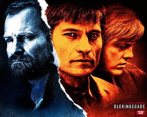 Promotionbillede: Blekingegade, krimiserie i 5 dele, TV2. Produktionsselskab: Zentropa. Instruktør: Jacob Thuesen