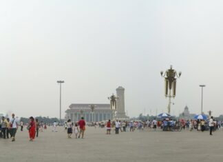 Beijing Tiananmen Square. Photo: Taken on February 22, 2008 by ericwonghk83. (CC BY-NC-ND 2.0).