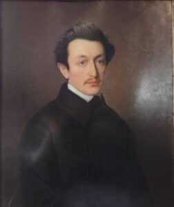 Moses Hess (Zeughaus). Painted by Gustav A. Köttgen um 1846. Current location: Cologne's Municipal Museum. Photo: Vera de Kok. Public Domain.
