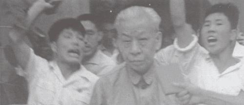 Peoples Republic of China's president Liu Shaoqi was the primary target of the Chinese cultural revolution. Photo: Unknown.