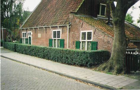 Spinoza's house in Rijnsburg from 1661 to 1663, The House of the thinker today a Museum that preserves his work. Photo: Albeiro Rodas, the house of Baruch Spinoza. The Work donated to wikipedia. (CC BY-SA 3.0).