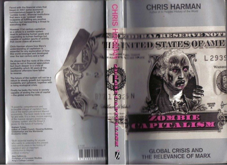 Omslag på Cris Harmans: Zombie Capitalism