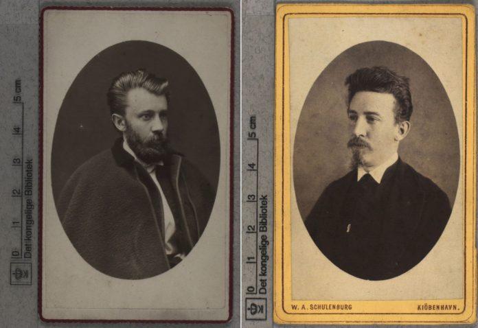 Harald Brix og Louis Pio kollage. Fotograf ikke angivet (CC BY-NC-ND 4.0)
