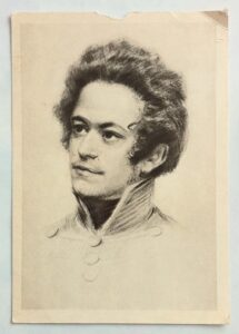 The young Marx, before 1840. Photo: Greenstein. Public Domain.