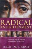 """Forside fra bogen """"Radical Enlightenment"""" af Jonathan I. Israel"""