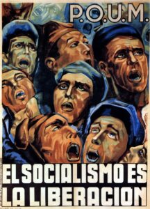 Lienas. Socialism is the liberation (POUM). 1936. Photo: kitchener.lord. (CC BY-NC-ND 2.0).