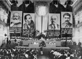 Foto fra Kominterns VII Kongres i 1935