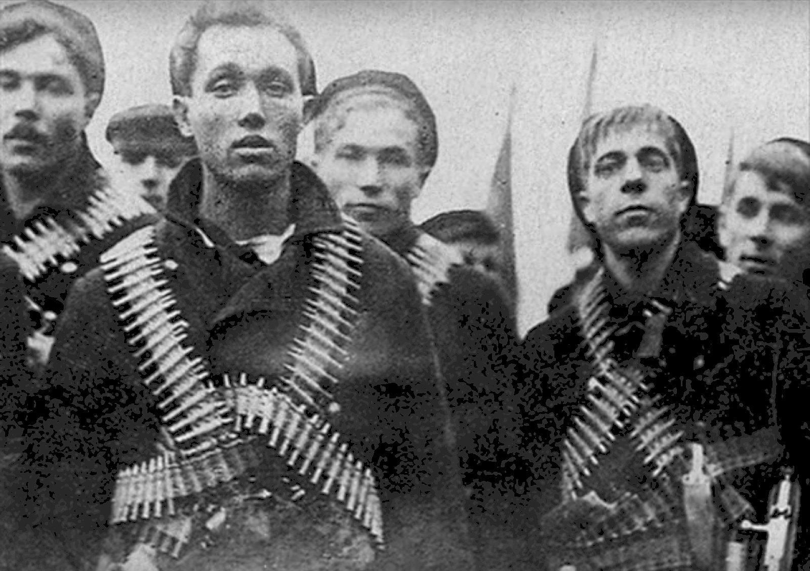 Sailors of Kronstadt 1921. Photo: Unknown. Public Domain.