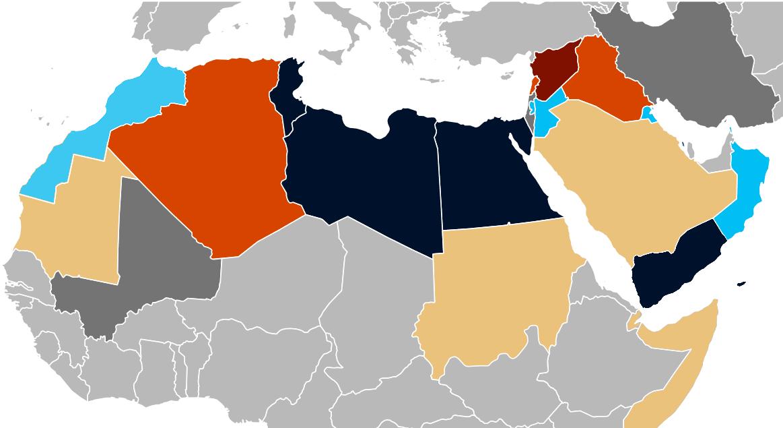 The Arab Spring. Made 7 November 2015 by Ryanzy. (CC BY-SA 4.0).