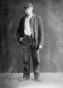 Jack London. Unknown date. Photo: Bain News Service. Public Domain. Collection: Library of Congress Prints and Photographs Division Washington, D.C. 20540 USA.