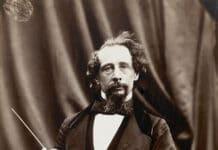 Charles Dickens. Photo: Taken on 29 April 1858 by Herbert Watkins. Public Domain.