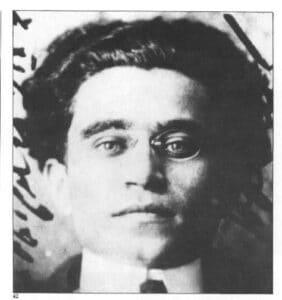 Antonio Gramsci en 1915. Photo: Unknown. Public Domain.