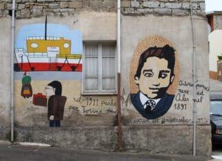 Murales in via Gramsci. Photo: Taken on 10 June 2013 by Carlo Pelagalli. (CC BY-SA 3.0).