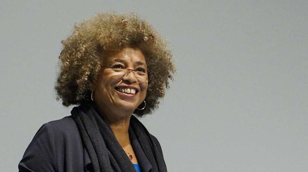 Angela Davis. Photo: Taken 4 October 2017 by Columbia GSAPP. (CC BY 2.5).