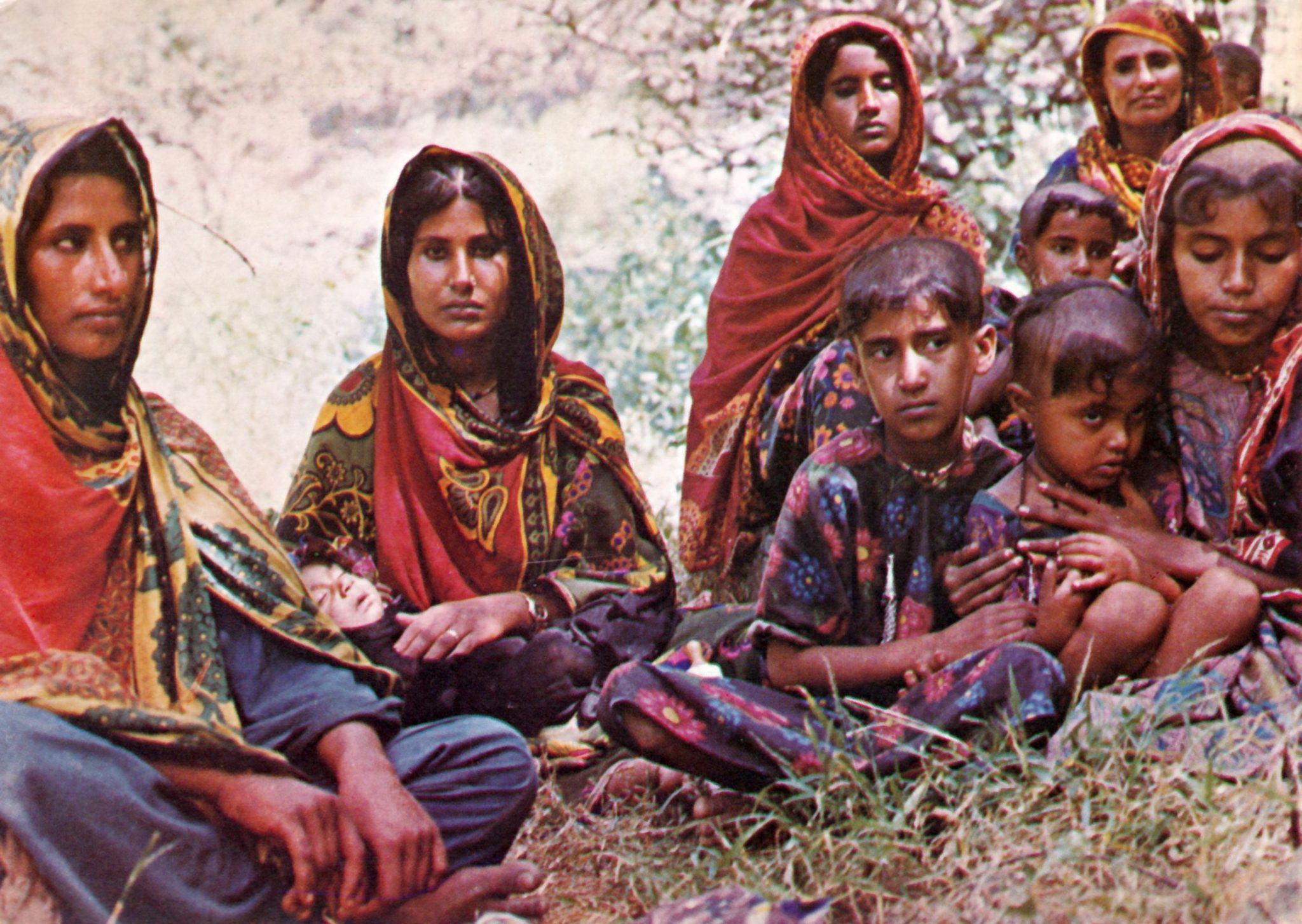 Omani Refugies taken of by Omani Red Cresent. The 1970ties