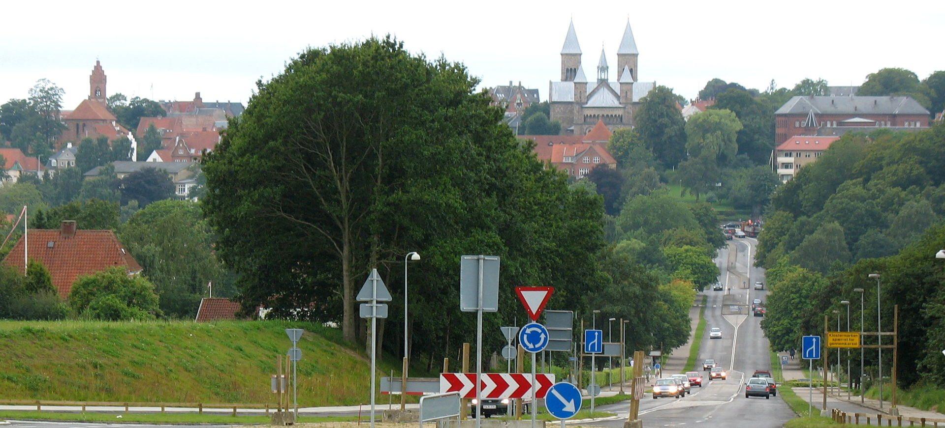 Viborg set fra øst. Foto: I, Hubertus45. (CC BY 3.0). pg
