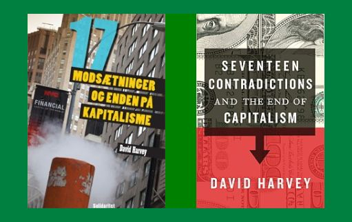 David Harveys bog i danske og engelsk udgave