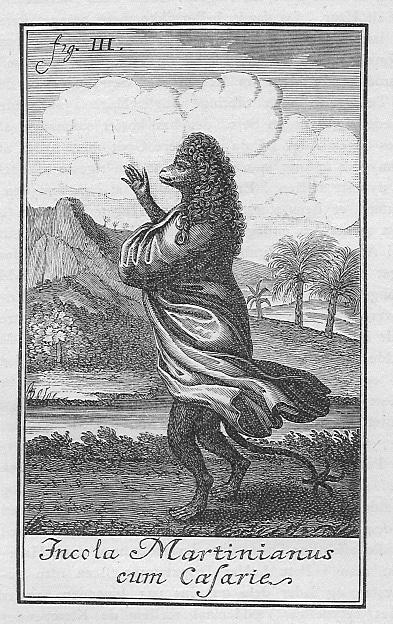 Illustration til førsteudgaven af Niels Klim 1741. Fra Illustreret Dansk Litteraturhistorie, 1886. Photo: P. Hansen. Public Domain.