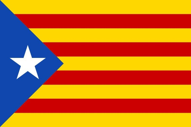 Catalanske seperatiskflag