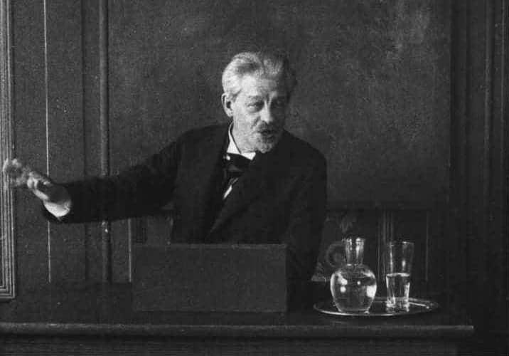 Screenshot fra den danske stumfilm