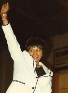 "Washington D.C. 1996. Author: John Mathew Smith & www.celebrity-photos.com from Laurel Maryland, USA. (CC BY-SA 2.0). Source: <a href=""https://commons.wikimedia.org/wiki/File:Winnie_Mandela_2.jpg"">Wikimedia Commons</a>"