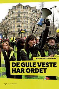 """Forsiden til bogen: """"De gule veste har ordet"""" (Mondogrande 2020, 144 s.)"""