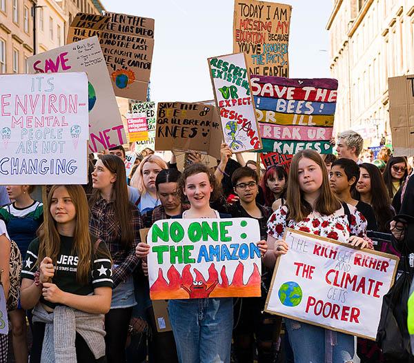 20 September global climate strike: Glasgow. Kilde: https://socialistworker.co.uk/art/48961/20+September+global+climate+strikes+as+they+happen
