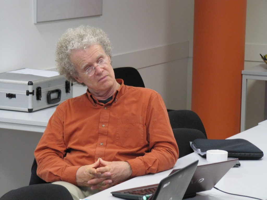 Rosa Luxemburg Foundation seminar with sociologist Erik Olin Wright, in Berlin. 17 May 2011, Source https://www.flickr.com/photos/rosalux/7089921779/ Photo: Rosa Luxemburg-Stiftung. (CC BY 2.0)
