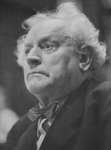 Porträt Martin Andersen-Nexö. Foto: taget efter 1951 af Richard Peter (1895–1977), tysk fotograf og journalist. Kollektion: Deutsche Fotothek, Dresden. (CC BY-SA 3.0 DE).