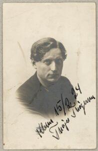 Thøger Thøgersen (1885-1947), redaktør, Sadelmager, formand for DKP 1927-32. Foto: Ukendt. (CC BY-NC-ND 4.0). Samling: Det kongelige Biblioteks Billedsamling.