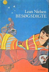 'Besøgsdigte', Gyldendal, 1977, 2. oplag. Omslagsforside ved Karin Ethelberg.