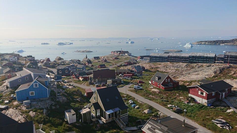 Grønland 2021: Ilussat i Vestgrønland. (Foto: Privat /Martin Ashwin Bryld)